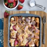 Overnight Strawberry Cream Cheese-Stuffed French Toast Casserole Recipe