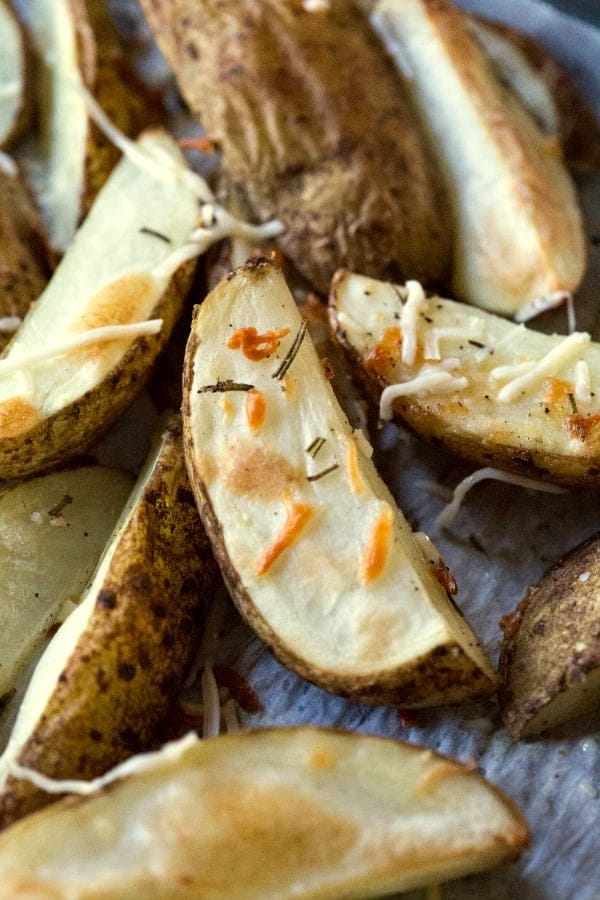 Rosemary Parmesan Potato Wedges