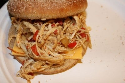 Slow Cooker Sweet and Spicy Buffalo Chicken Sandwiches - I ...