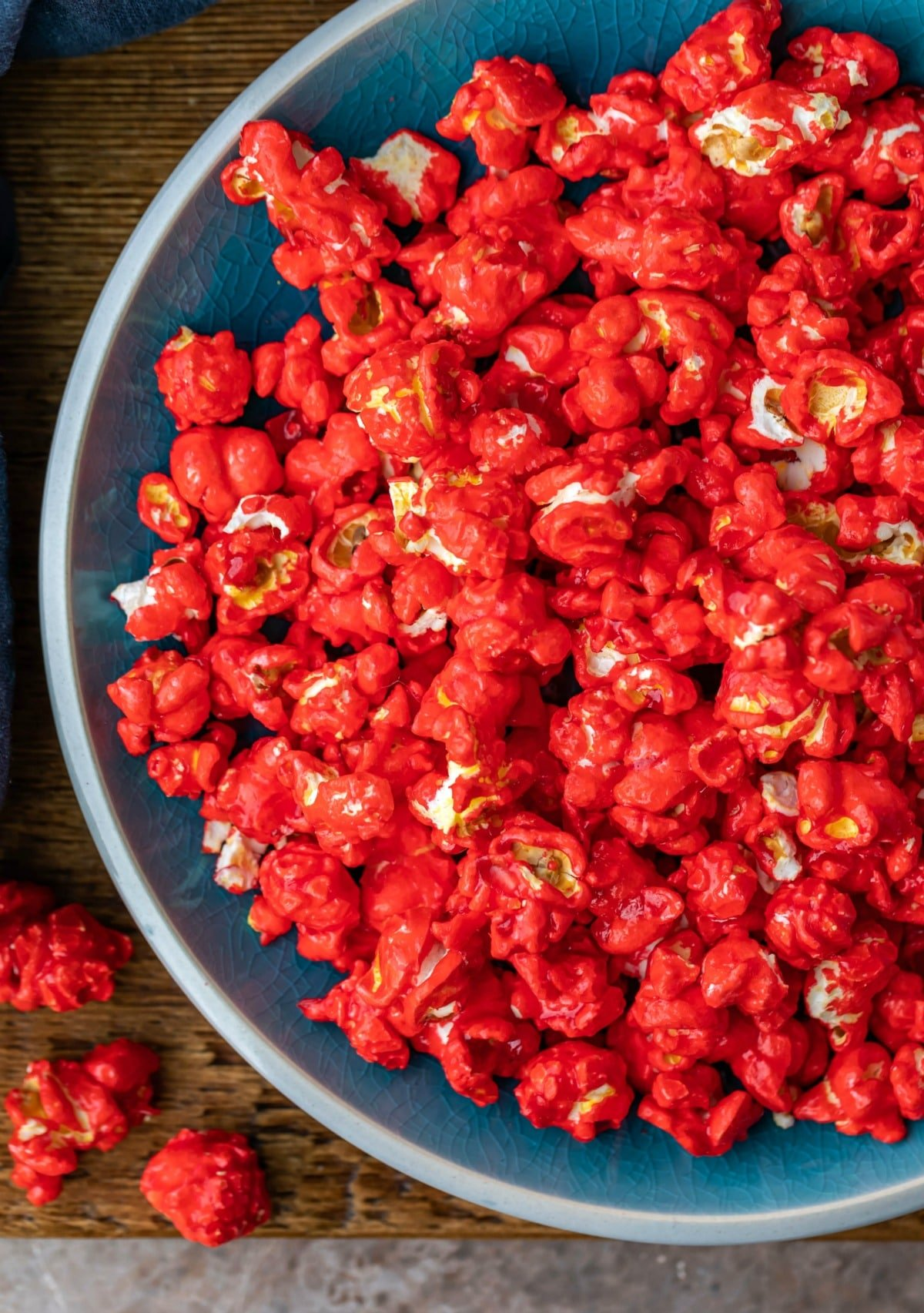 Red Hot Cinnamon Popcorn I Heart Eating