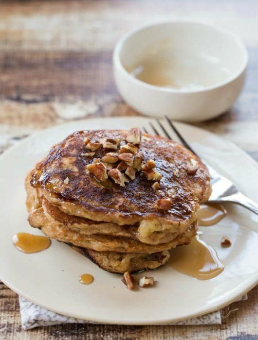Oatmeal Cookie Pancakes