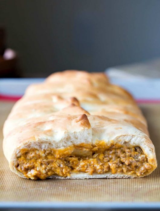 Bacon Cheeseburger Braid