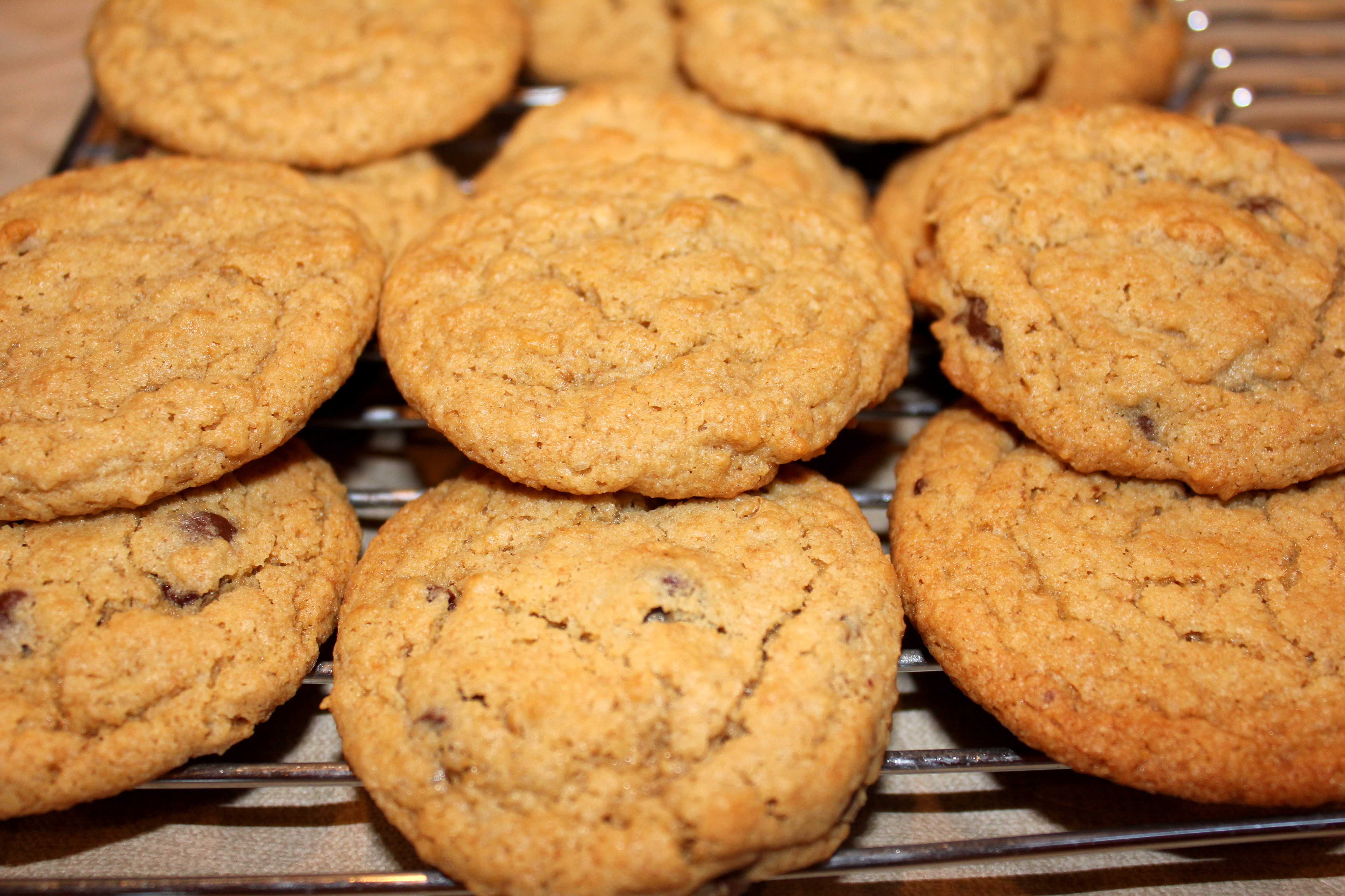 cookies chocolate chip cookies chocolate chip cookies the texture of a ...