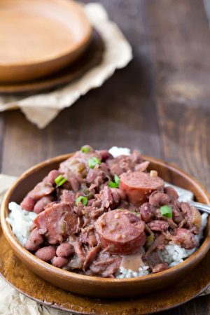 Crock Pot Red Beans and Rice
