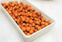 Crunchy Buffalo Chickpeas