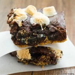 S'mOreo Brownies