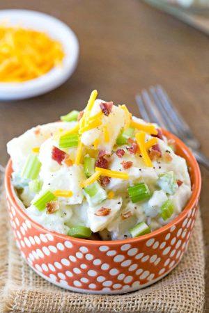 Bacon Cheddar Ranch Potato Salad