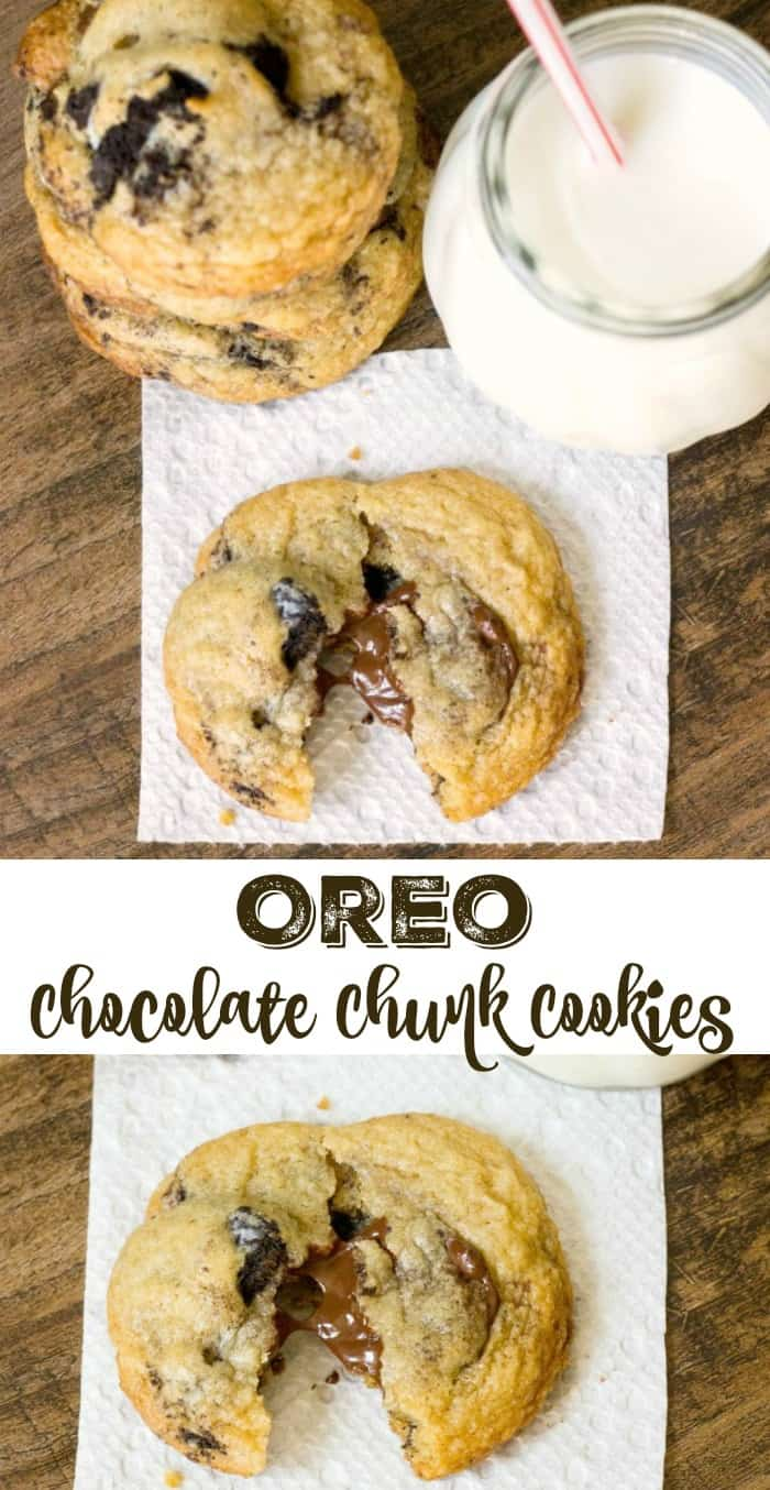 Oreo Chocolate Chunk Cookies