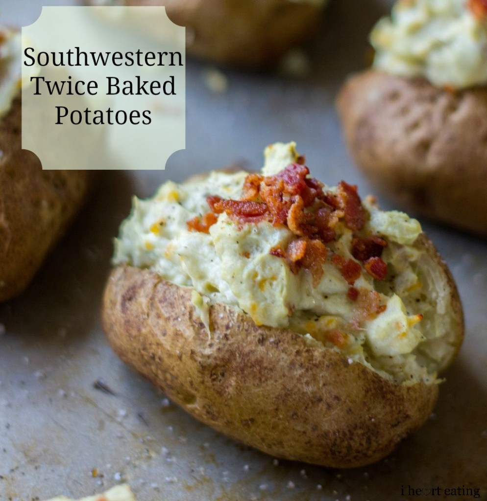Southwestern Twice Baked Potatoes