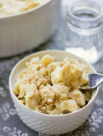 {Secret Ingredient} Baked Macaroni and Cheese