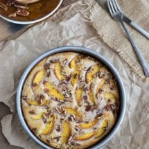 Fresh Peach Cake Recipe