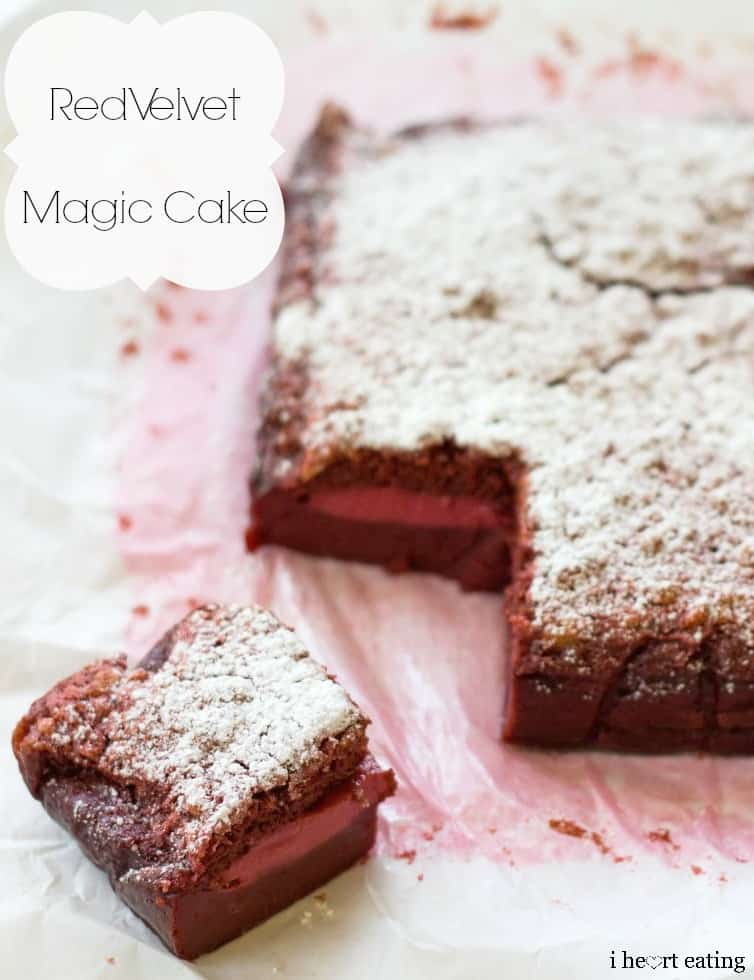 Red Velvet Magic Cake