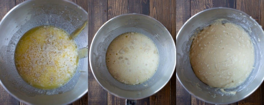 Yeast mixture for 30 Minute Honey Wheat Rolls