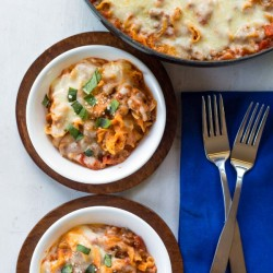 Easy One-Skillet Lasagna