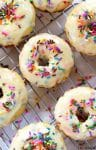Baked Funfetti Donuts {from scratch} | https://www.ihearteating.com | #donuts #doughnuts #breakfast #recipe
