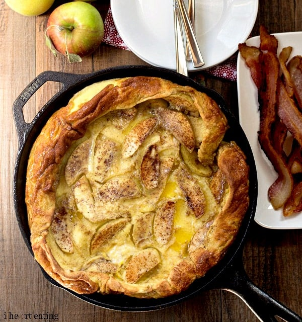 Caramelized Apple German Pancakes