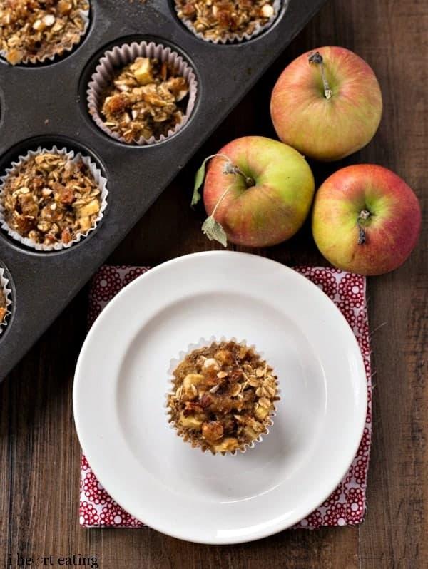 Individual Apple Crisp Oatmeal