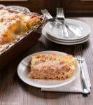 Creamy Tomato-Basil Chicken Lasagna