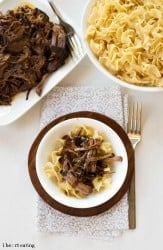 Crockpot Balsamic Beef