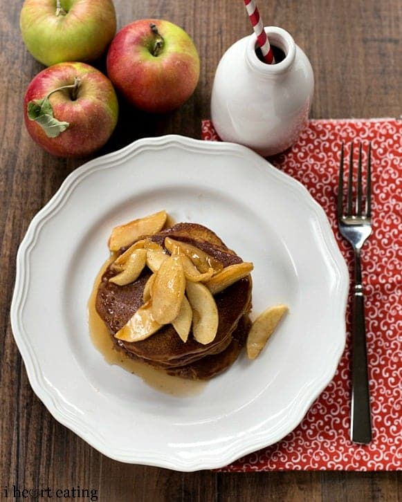 pancakes with buttered apples recipe yummly gingerbread apple butter ...