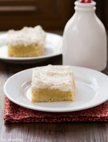 Sugar Cookie Bars with Vanilla Bean Buttercream