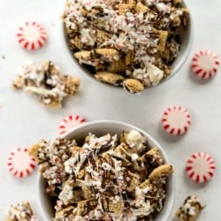 Peppermint Bark Chex Mix
