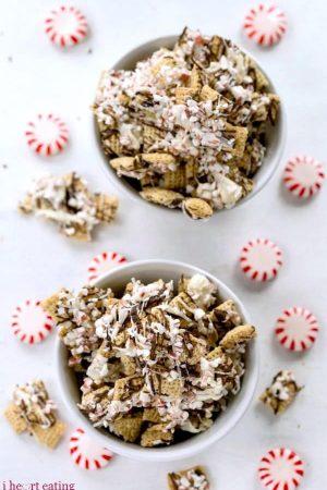 Peppermint Bark Chex Mix Recipe