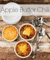 Apple Butter Chili