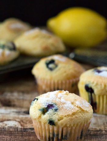 Blueberry Lemon-Sugar Muffins