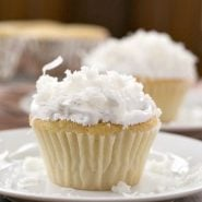 Coconut Cupcakes with Coconut 7 Minute Frosting
