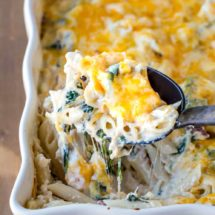 Chicken Bacon Ranch Pasta Bake