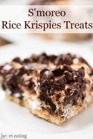 S'mOreo Rice Krispies Treats