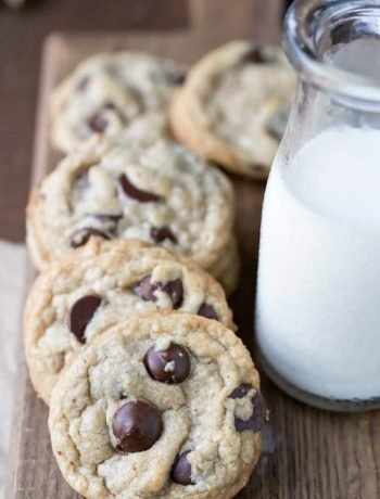 Coconut Oil Oatmeal Chocolate Chip Cookies