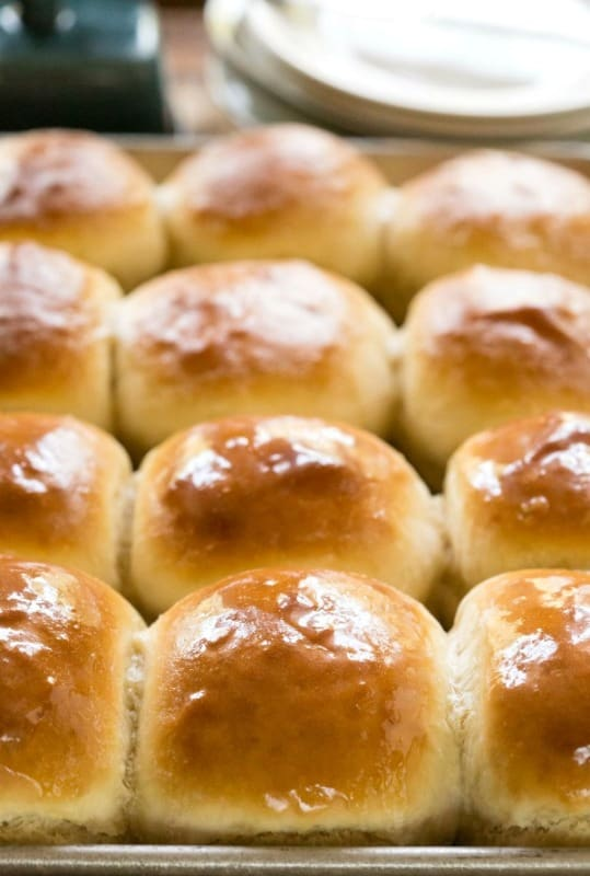 30 Minute Honey Butter Rolls