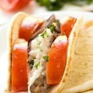 Slow Cooker Beef Gyros