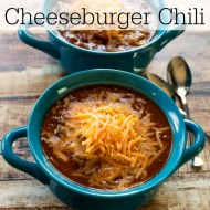 Barbecue Bacon Cheeseburger Chili