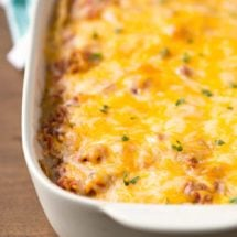 Overnight Mexican Breakfast Casserole Recipe