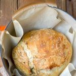 Garlic Herb No-Knead Bread