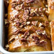 Overnight Sticky Bun French Toast