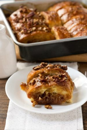 Overnight Sticky Bun French Toast