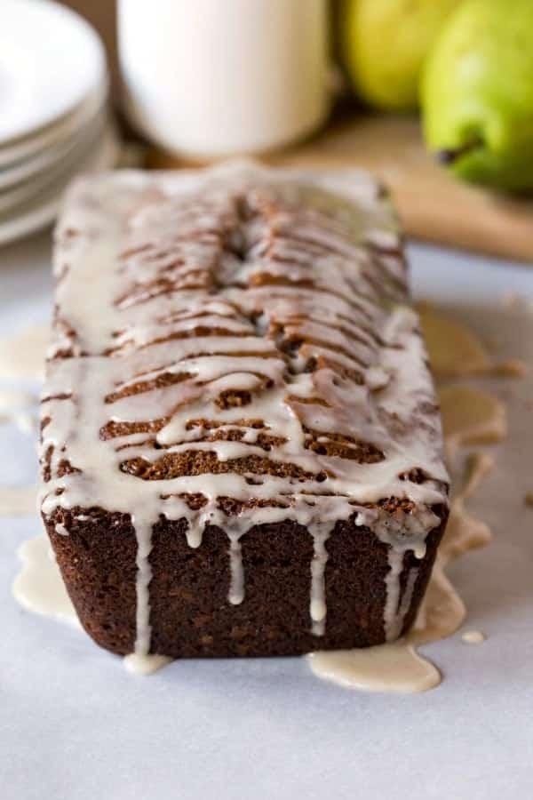 Apple Cider Loaf Cake