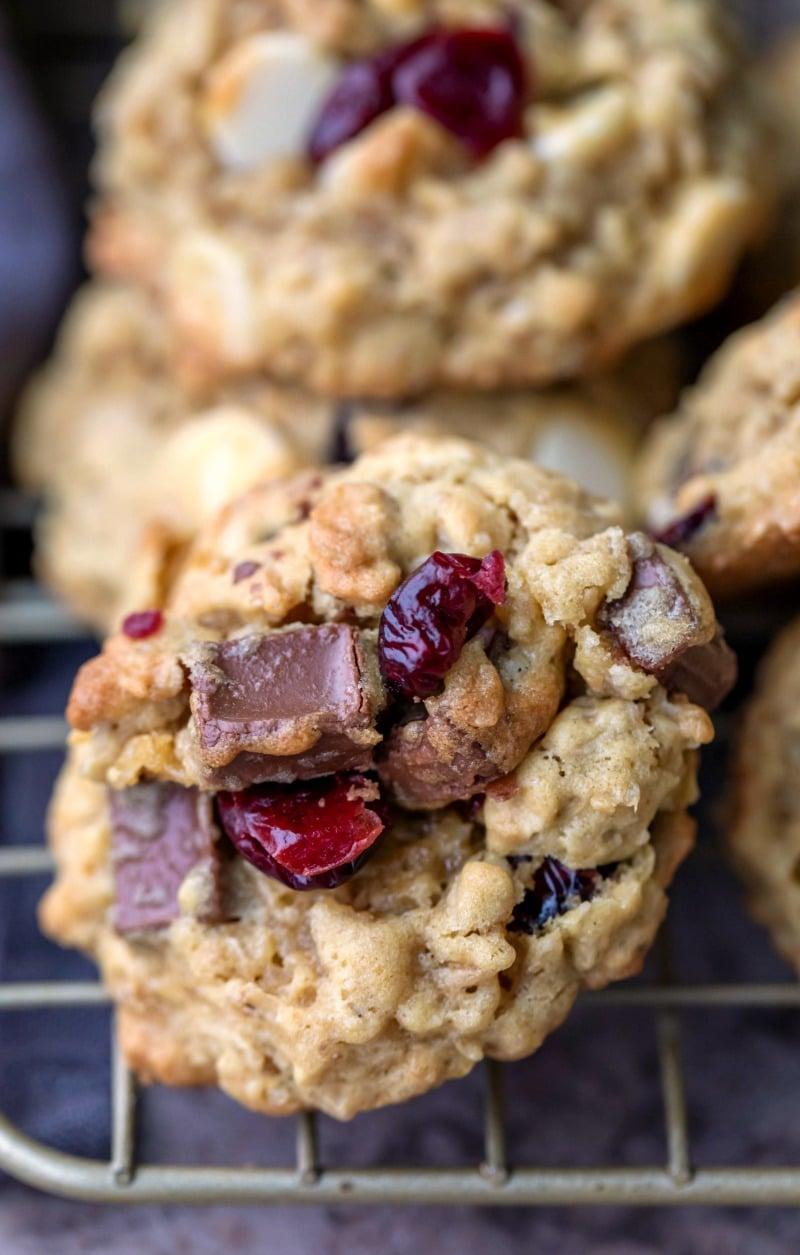 Cranberry Oatmeal Cookies I Heart Eating