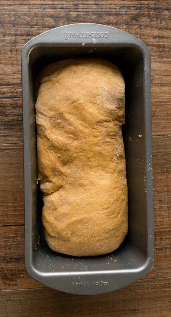 Gingerbread Cinnamon Swirl Bread