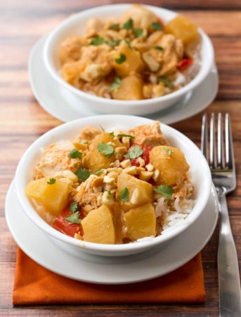 Slow Cooker Chicken Pineapple Curry