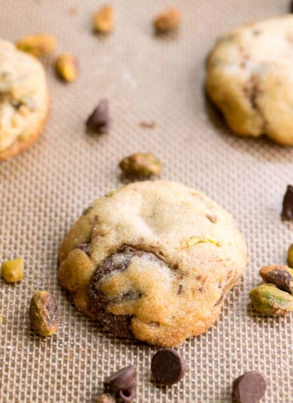 Pistachio And Chocolate Chunk Cookies I Heart Eating