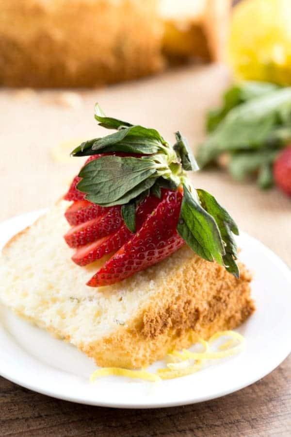 Lemon Basil Chiffon Cake I Heart Eating