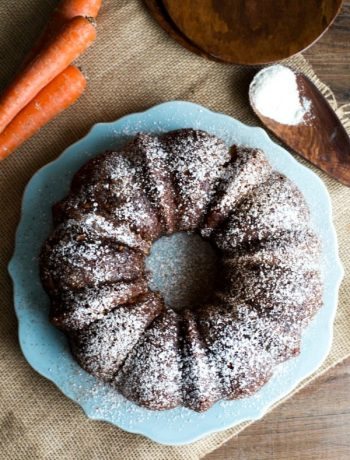 Coconut Flour Carrot Bundt Cake