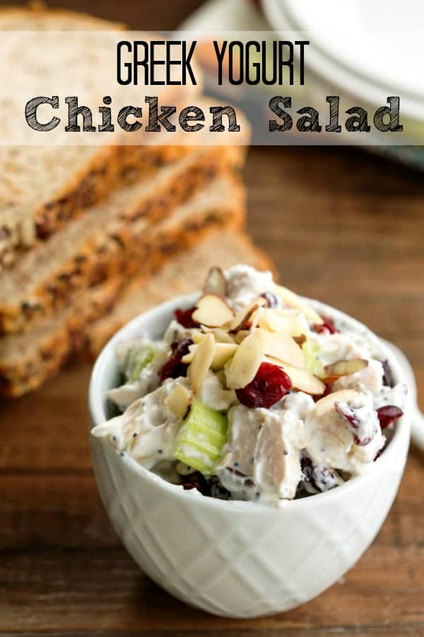 Greek Yogurt Chicken Salad I Heart Eating