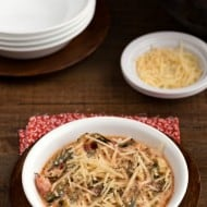 Zoodle Skillet Lasagna
