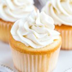 Vanilla Bean Whipped Buttercream Frosting